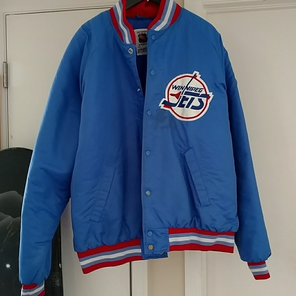 Winnipeg Jets Starter Jacket. M 5add10a661ca109a80b40694 58b762950